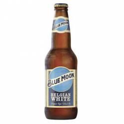 Cerveza Long Belgian White Blue Moon x 355 cc.