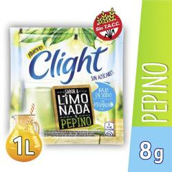 Jugo en polvo Limonada y Pepino Clight x 8 g.