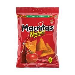 Nachos Style sabor Kétchup Macritas x 70 g.