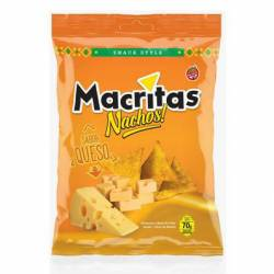 Nachos Style sabor Queso Macritas x 70 g.