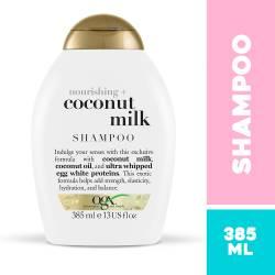 Shampoo Coconut Milk Ogx x 385 cc.