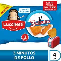 Rebozados de Pollo 3 Minutos Lucchetti x 240 g.