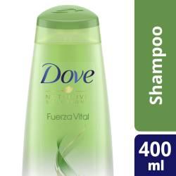 Shampoo Fuerza Vital Dove x 400 cc.