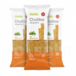 Galletitas s/Gluten Chalitas Classic Vía Vita x 100 g.