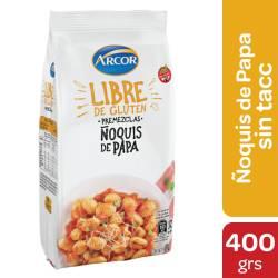 Premezcla Ñoquis Libre de Gluten Arcor x 500 g.