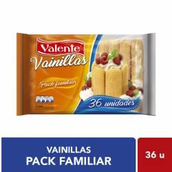 Vainillas Valente x 444 g.