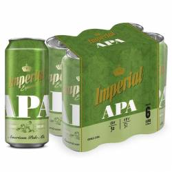 Cerveza Lata Apa Pack Imperial Pack x 6 Latas de 473 cc.