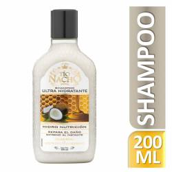 Shampoo Ultra hidratante Coco Tío Nacho x 200 cc.