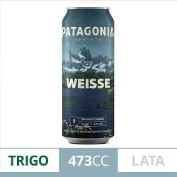 Cerveza Weisse Lata Patagonia x 473 cc.
