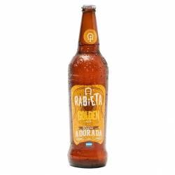 Cerveza NO Retornable Golden Ale Rabieta x 710 cc.