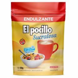 Endulzante en Polvo c/Sucralosa Doy Pack El Pocillo x 50 g.