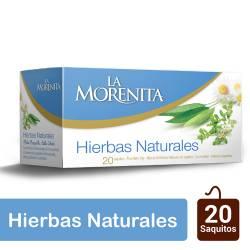 Té en Saquitos Mezcla Hierbas Naturales La Morenita x 20 un.