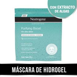 Máscara de Hidrogel Purifying Boost Neutrogena x 1 un.