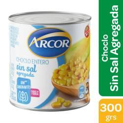 Choclo Entero s/Sal agregada Arcor x 300 g.