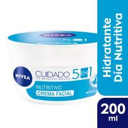 Crema Facial Cuidado Nutritivo Nivea x 200 cc.