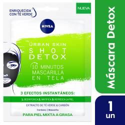 Mascarilla Urban Skin Shot Detox Nivea x 1 un.