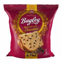 Pan Dulce Tipo Madrileño c/chocolate Bagley x 400 g.