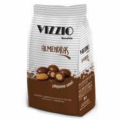 Almendras c/Chocolate Vizzio x 100 g.