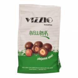 Avellanas Bañadas c/Chocolate Vizzio x 100 g.