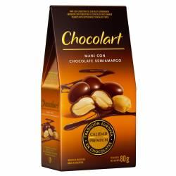 Maní con Chocolate Semiamargo Chocolart x 80 g.
