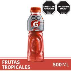 Bebida Frutas Tropicales Gatorade x 500 cc.