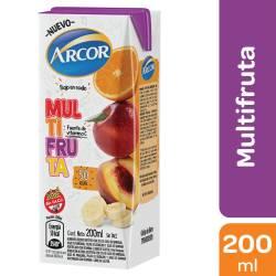 Alimento Líquido Bajo en Sodio Multifruta. Arcor x 200 cc.