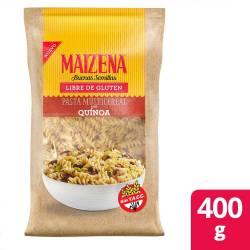 Pasta Multicereal con Quinoa Maizena x 400 g.