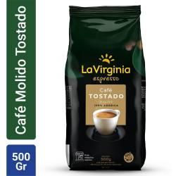 Café Espresso Molido 100% Arábica La Virginia x 500 g.