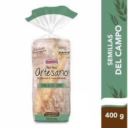 Pan de Mesa Artesano c/Semilla de Campo Bimbo x 400 g.