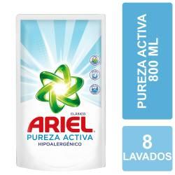 Líquido Lavar Ropa Pureza Active Ariel x 800 cc.