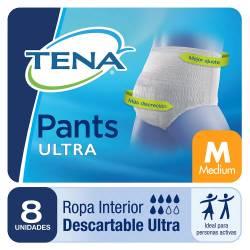 Ropa Interior Unisex Medium Pants Tena x 8 un.