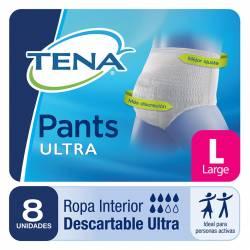 Ropa Interior Unisex Large Pants Tena x 8 un.