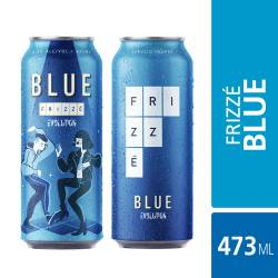 Bebida Alcohólica Gasificada Blue Ev Lat Frizzé x 473 cc.
