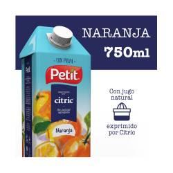 Jugo Naranja con Pulpa Tetra Petit x 750 cc.