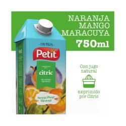 Jugo Naranja Mango Maracuyá c/Pulpa Petit x 750 cc.