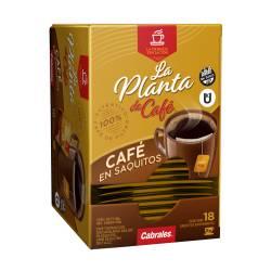 Café en Saquitos La Planta de Café x 18 un.