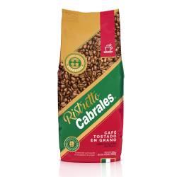 Café Tostado Ristretto en Grano Cabrales x 500 g.