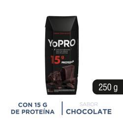 Leche Chocolatada Alta en Proteína Yopro x 250 cc.