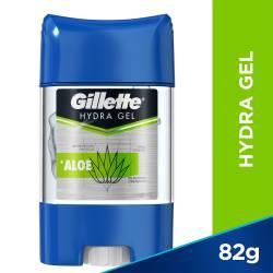 Antitranspirante Barra Gel Hydra Gel Aloe Gillette x 82 g.