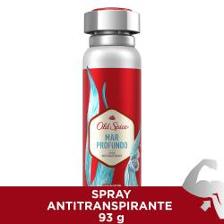 Antitranspirante Aerosol Mar Profundo Old Spice x 93 g.