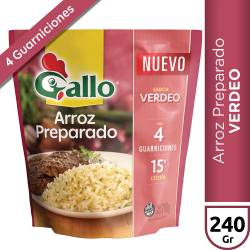 Arroz Preparado sabor Verdeo Gallo x 240 g.