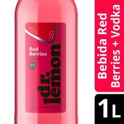 Bebida Alcohólica c/Vodka Red Berry Dr. Lemon x 1 Lt.