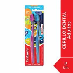 Cepillo Dental Suave Ultra Soft Colgate x 2 un.