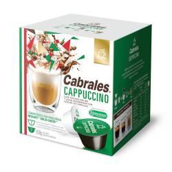 Café Tostado en Cápsulas Cappuccino Cabrales x 14 un.