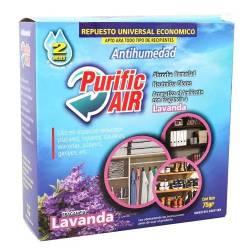 Repuesto Universal Antihumedad Lavanda Purific Air x 75 g.