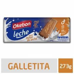 Galletitas sabor Dulce de Leche Okebon x 273 g.