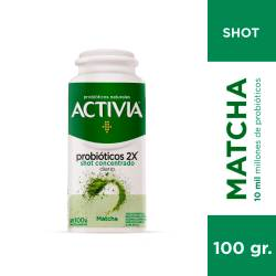 Yogur Shot Concentrado Matcha Activia x 100 g.