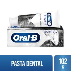 Pasta Dental 3Dw Mineral Clean Oral-B x 102 g.