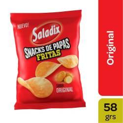 Papas Fritas sabor Original Saladix x 58 g.