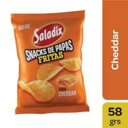 Papas Fritas sabor Cheddar Saladix x 58 g.
